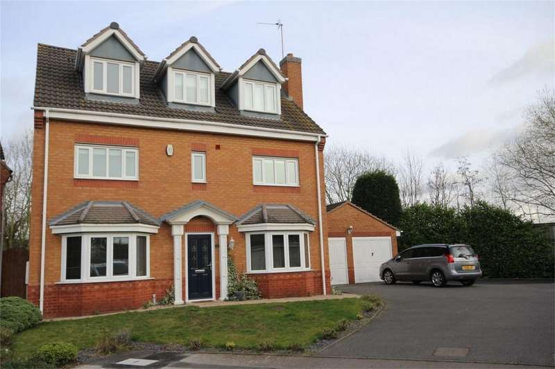 5 Bedrooms Detached House for sale in St Buryan Close, Horeston Grange, NUNEATON, Warwickshire