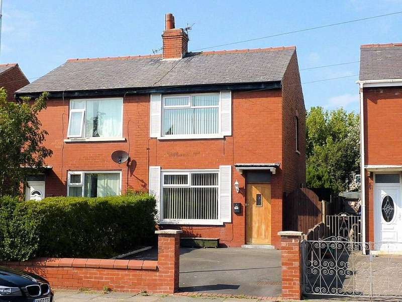 2 Bedrooms Semi Detached House for sale in Warley Road, North Shore, Blackpool