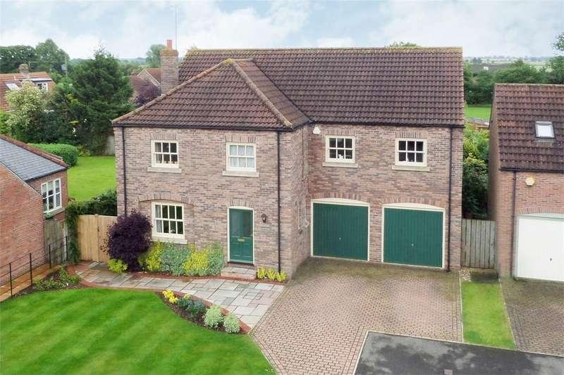 5 Bedrooms Detached House for sale in Village Farm Court, Newton On Derwent, York