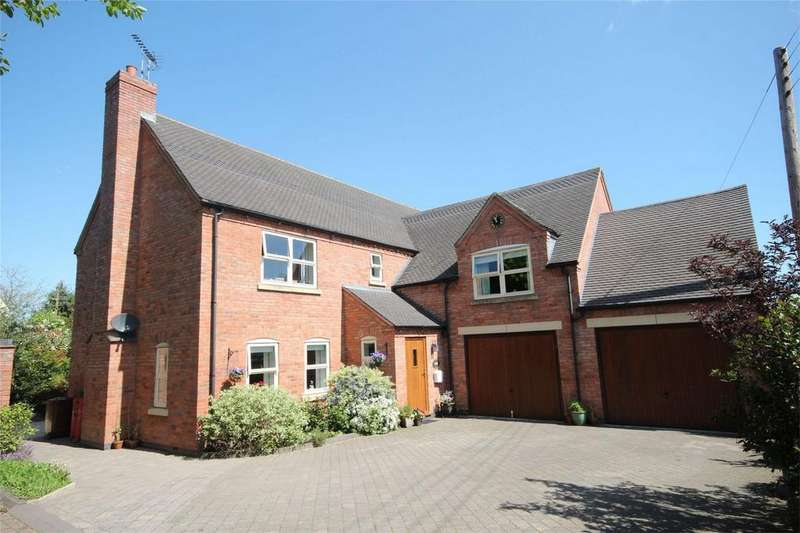 4 Bedrooms Detached House for sale in Stubwood Lane, Denstone, Uttoxeter, Staffordshire