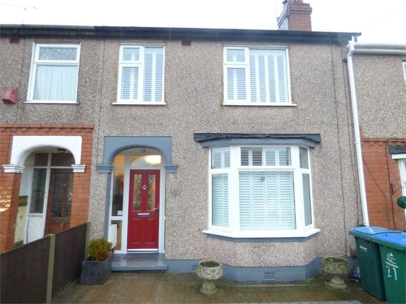 3 Bedrooms Terraced House for sale in Cowley Road, Poets Corner, Coventry