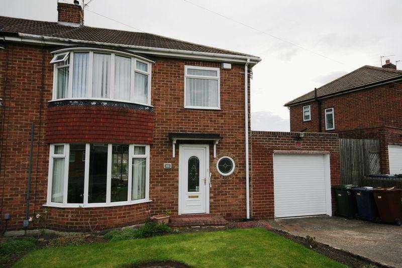3 Bedrooms Semi Detached House for sale in Langdon Road, Hillhead Estate, Westerhope