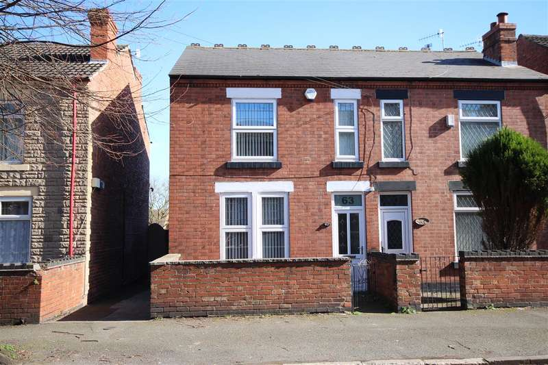 2 Bedrooms Semi Detached House for sale in Millfield Road, Ilkeston