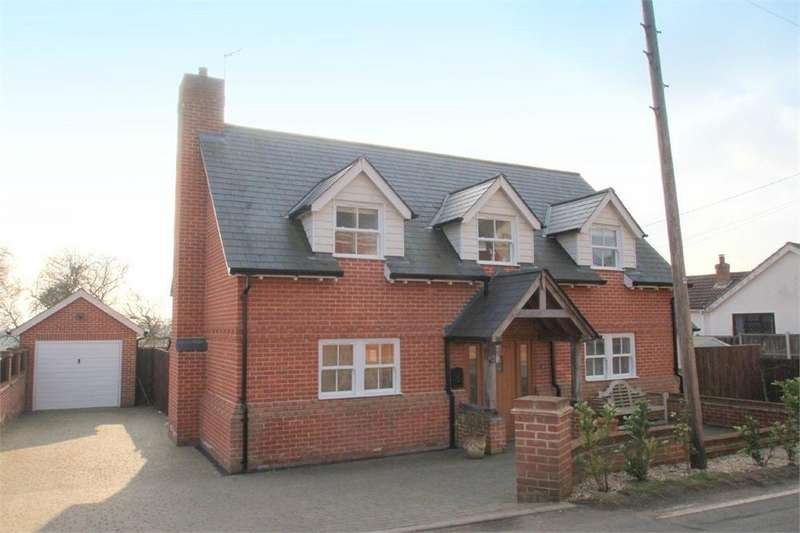 4 Bedrooms Detached House for sale in Chapel Road, Great Totham, MALDON, Essex