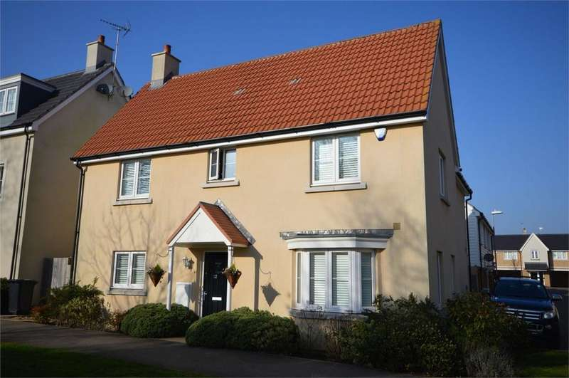 4 Bedrooms Detached House for sale in 112 Blenheim Square, North Weald, EPPING, Essex