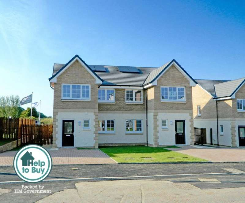 3 Bedrooms Semi Detached House for sale in The Blair, Shanter Crescent, Drongan, Ayrshire, KA6 7DZ