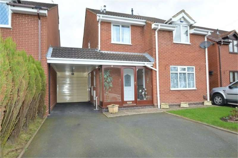 4 Bedrooms Link Detached House for sale in Celandine Close, Kingswinford, West Midlands