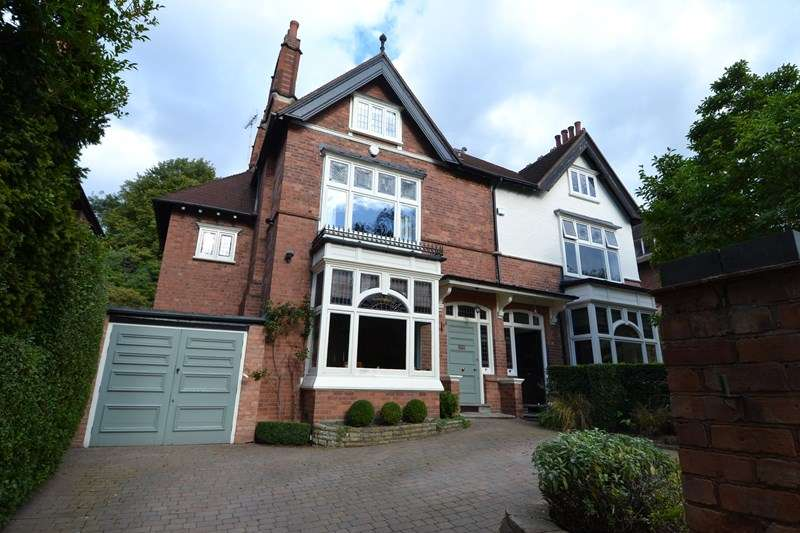 5 Bedrooms Semi Detached House for sale in Park Hill, Moseley, Birmingham