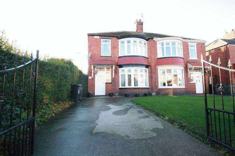 3 Bedrooms Semi Detached House for sale in Lansdowne Road, Longlands, Middlesbrough, TS4 2LS