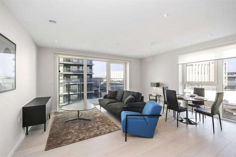 2 Bedrooms Flat for sale in Glasshouse Gardens, Montfichet Road, London, E20