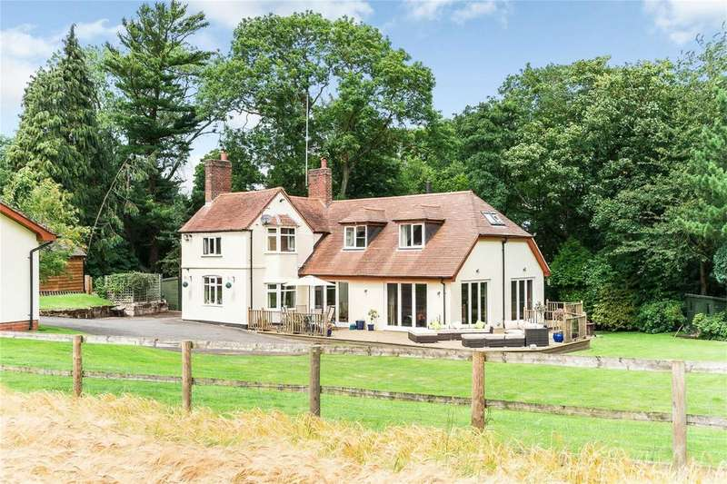5 Bedrooms Detached House for sale in The Cottage, Blakedown, Worcestershire