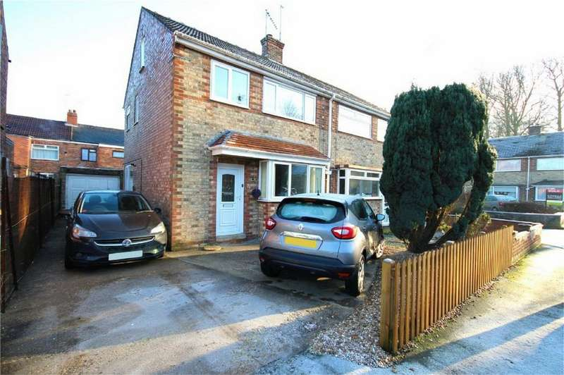 3 Bedrooms Semi Detached House for sale in Devon Street, Cottingham, East Riding of Yorkshire