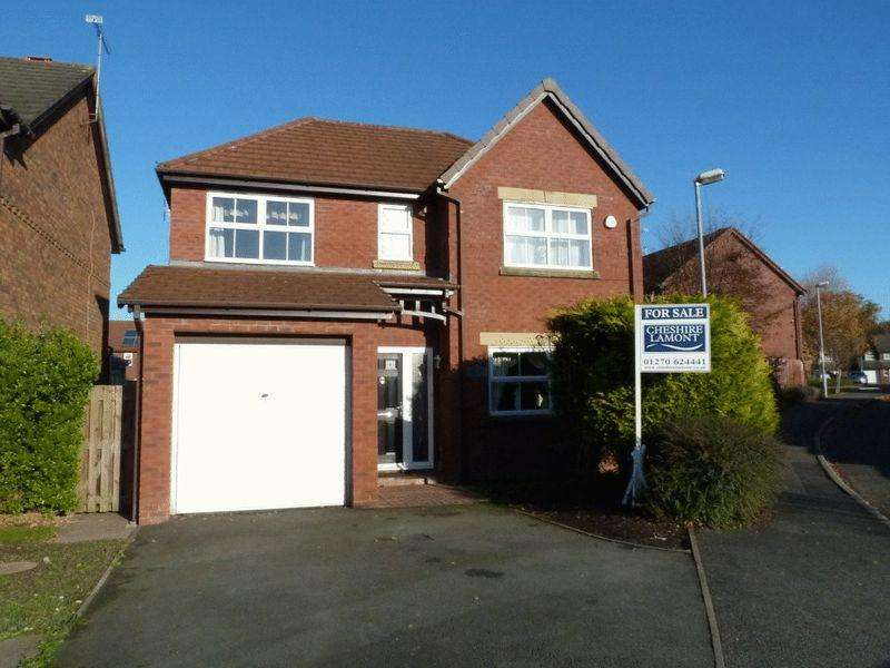 4 Bedrooms Detached House for sale in Patterdale Close, Wistaston, Nr Crewe