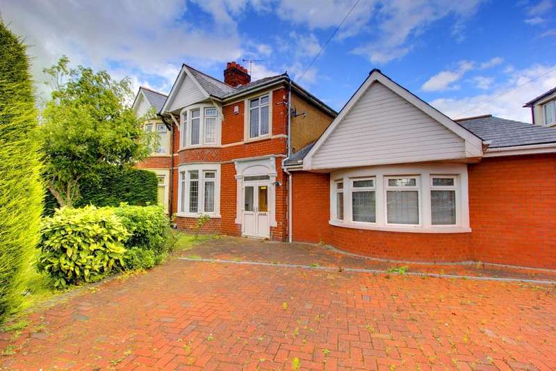 4 Bedrooms Semi Detached House for sale in Maes Y Coed Road, Heath, Cardiff