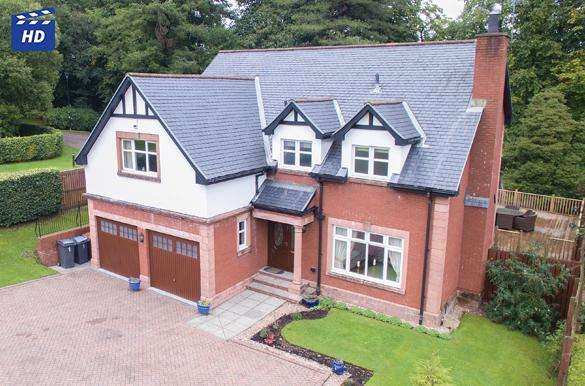 4 Bedrooms Detached Villa House for sale in 1 Juniper Avenue, Quarriers Village, Bridge of Weir, PA11 3NS