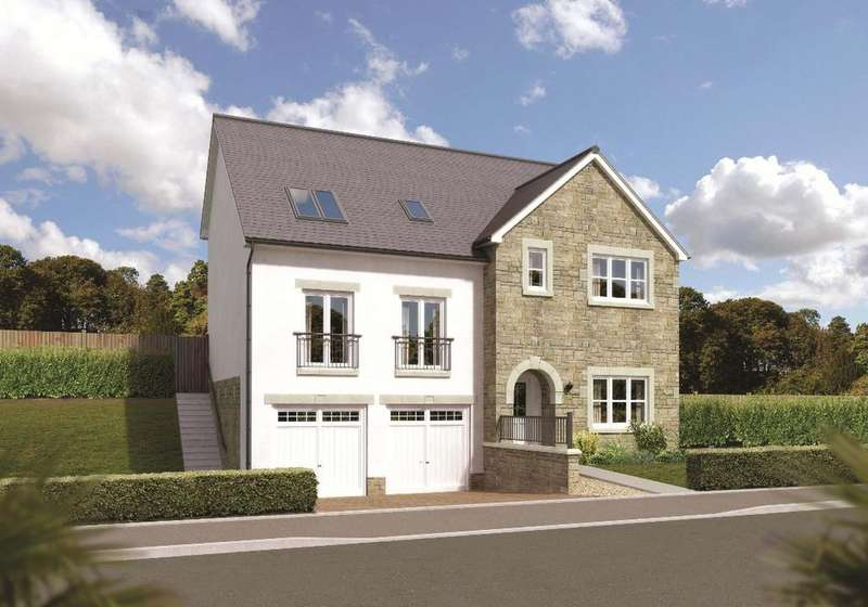 5 Bedrooms Detached Villa House for sale in Lairds Gate, The Kilnfield, Stewarton, East Ayrshire, KA3 3DY