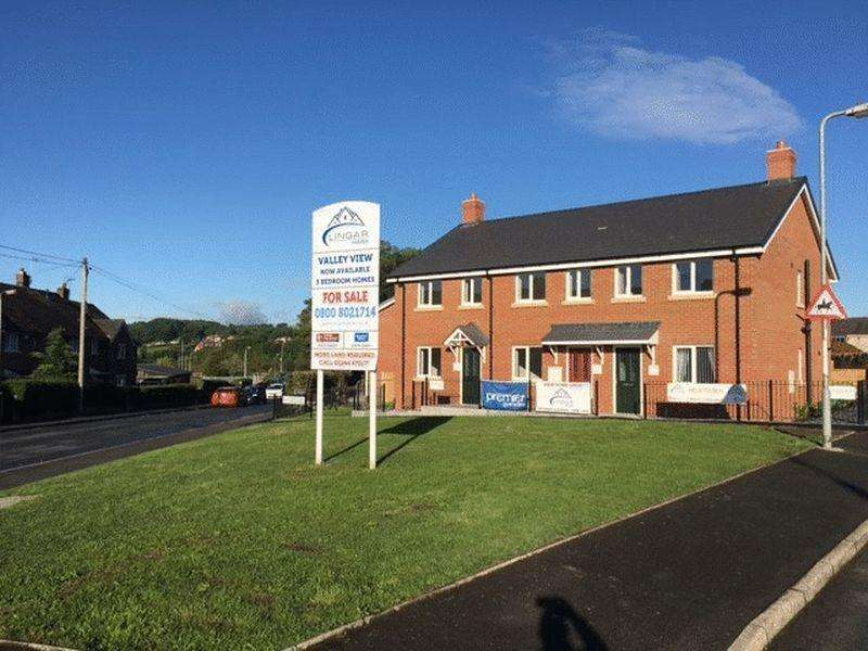 3 Bedrooms Terraced House for sale in PLOT 7 VALLEY VIEW, BRYNTEG