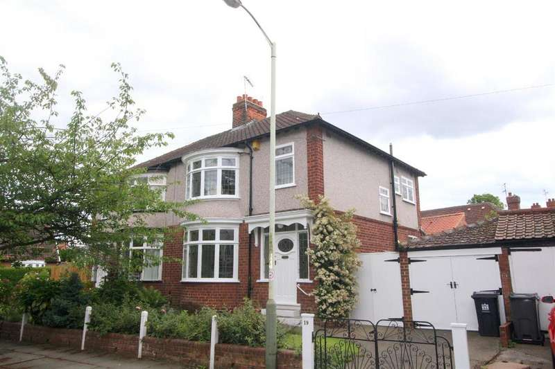 3 Bedrooms Semi Detached House for sale in Woodvale Road, Darlington