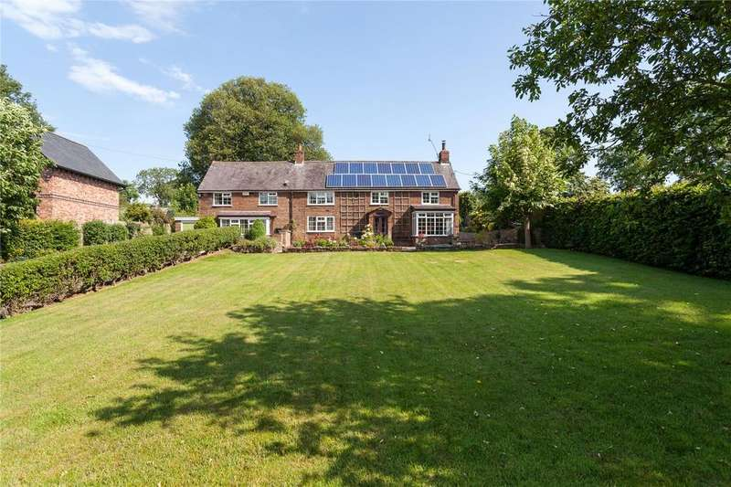 4 Bedrooms Detached House for sale in Utkinton, Tarporley, Cheshire, CW6