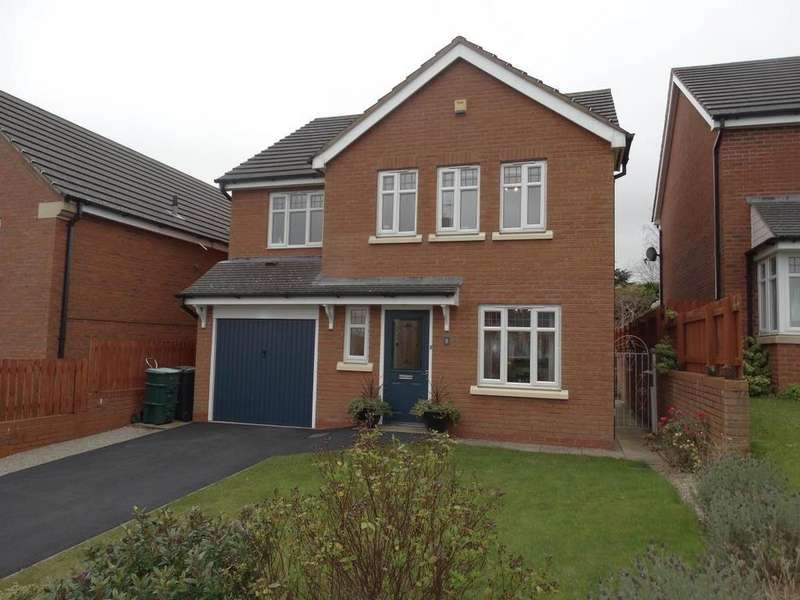 4 Bedrooms Detached House for sale in 8 Rhodfa Brenig, Upper Colwyn Bay, LL29 6EA