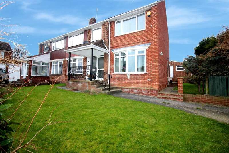 4 Bedrooms Semi Detached House for sale in Penshaw View, Wardley, Gateshead