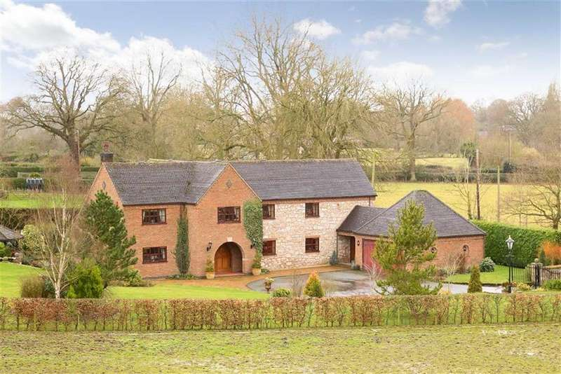 4 Bedrooms Detached House for sale in Gwern-Y-Brenin, Oswestry, SY10