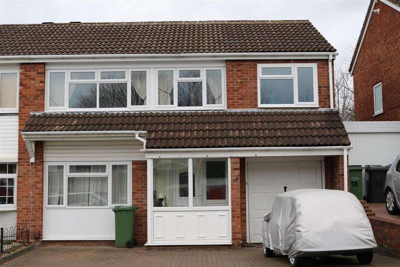 4 Bedrooms Semi Detached House for sale in Swift, Tamworth