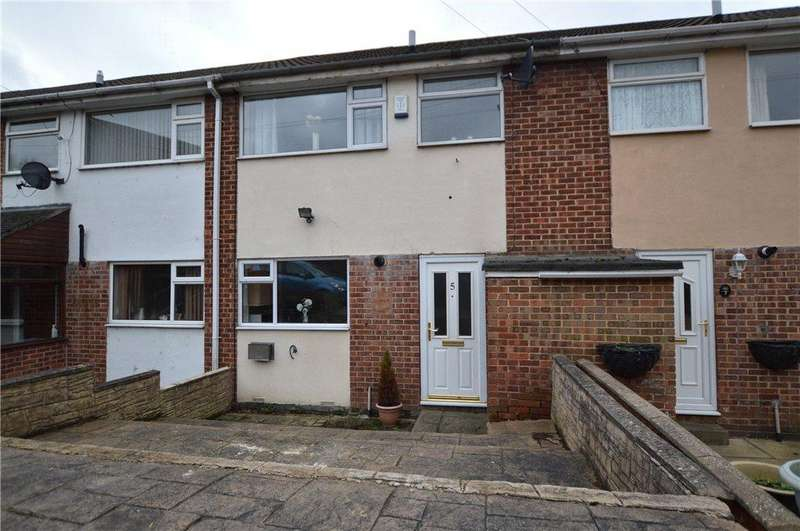 3 Bedrooms Terraced House for sale in Harthill Close, Gildersome, Leeds