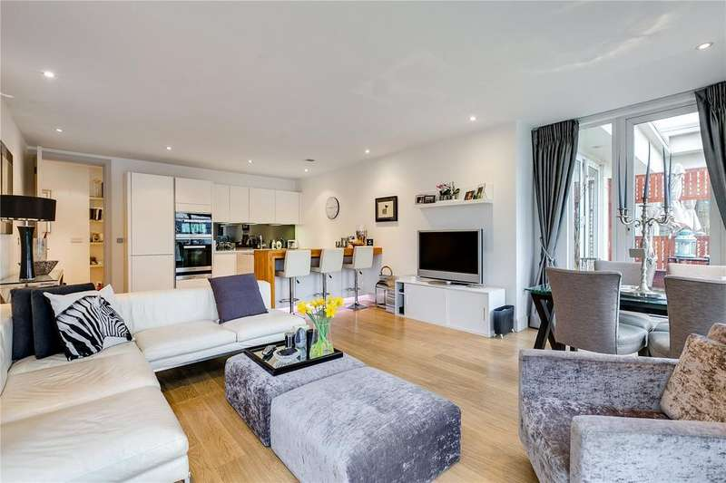 2 Bedrooms Flat for sale in Saffron House, 7 Woodman Mews, Richmond, Surrey