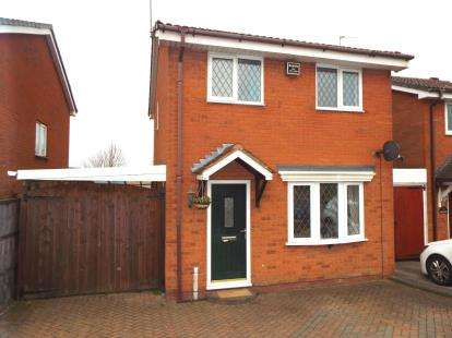 3 Bedrooms Detached House for sale in Rawnsley Road, Cannock, Staffordshire