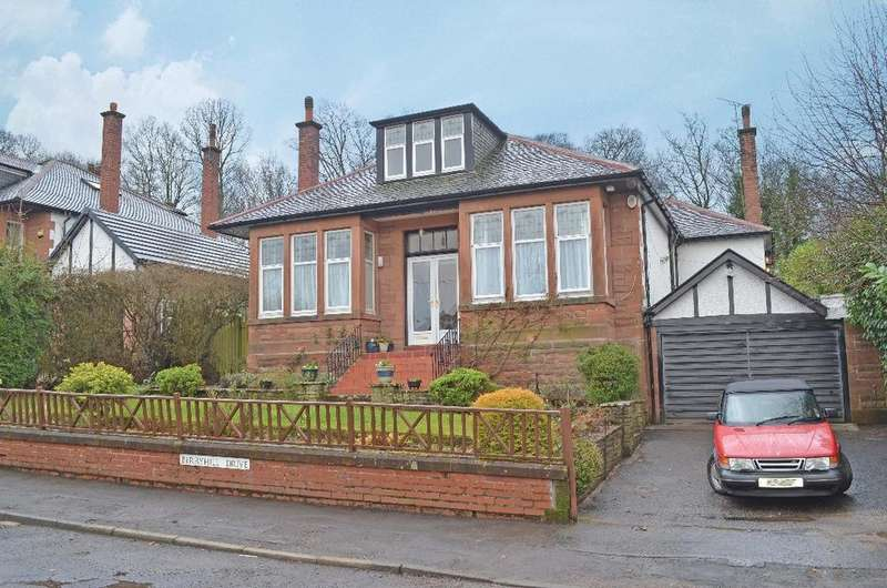 5 Bedrooms Detached Bungalow for sale in Berryhill Drive, Giffnock, Glasgow, G46 7AS