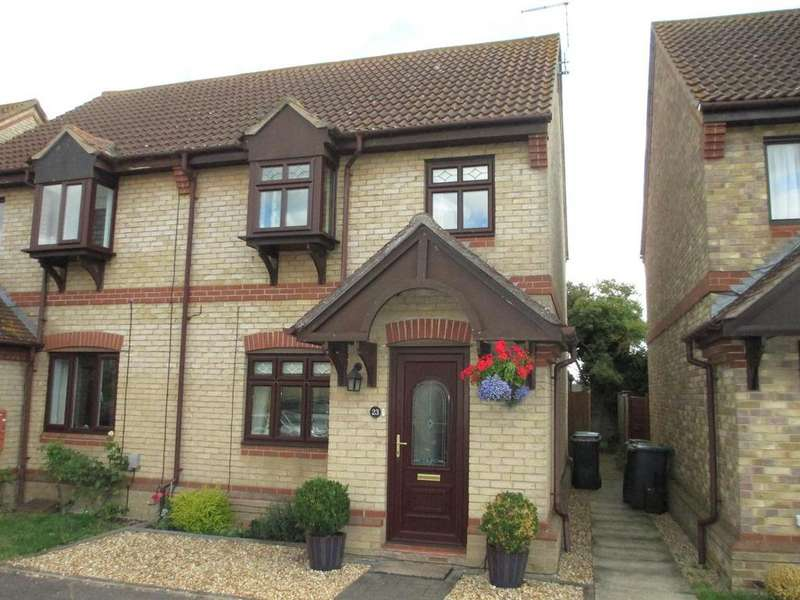 3 Bedrooms Semi Detached House for sale in Old School Walk, Arlesey, SG15 6YF