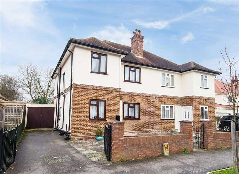3 Bedrooms Semi Detached House for sale in Myrtle Avenue, Eastcote, Middlesex