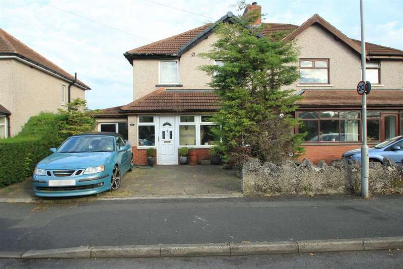 3 Bedrooms Semi Detached House for sale in Moorland Crescent, Clitheroe