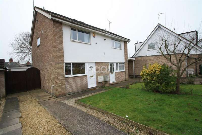 2 Bedrooms Semi Detached House for sale in Coltbeck Avenue, Narborough, Leicester