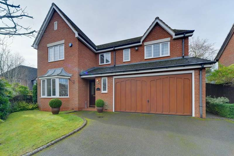 5 Bedrooms Detached House for sale in Moss Grove, Kenilworth