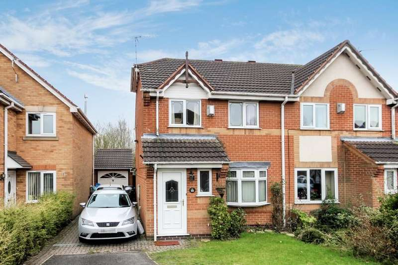3 Bedrooms Semi Detached House for sale in Loweswater Grove, Ashby-de-la-Zouch