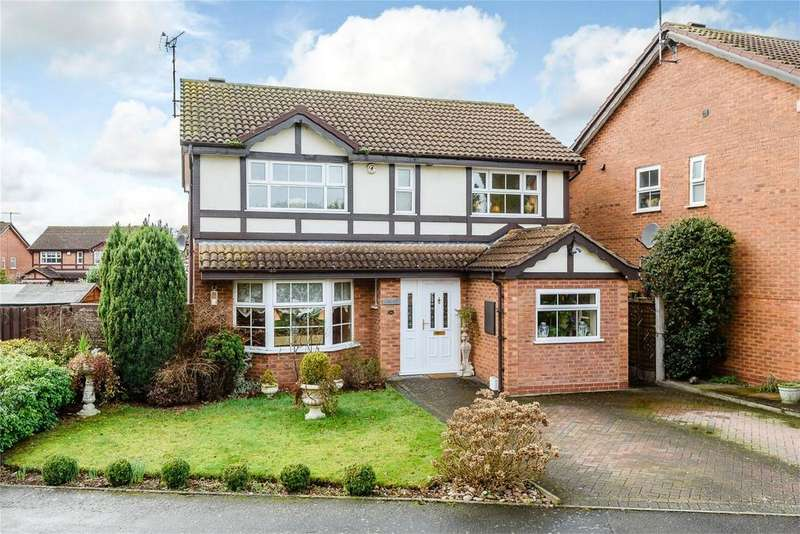 4 Bedrooms Detached House for sale in Kittiwake Drive, Kidderminster, Worcestershire