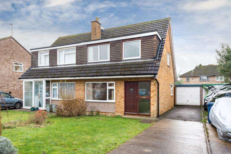 3 Bedrooms Semi Detached House for sale in Horseman Close, Headington, Oxford, Oxfordshire