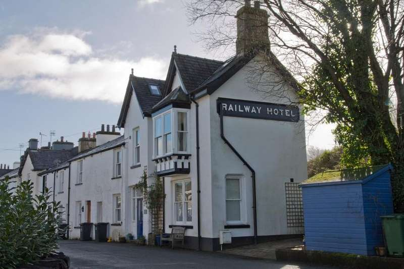 3 Bedrooms End Of Terrace House for sale in Station House, The Banks, Staveley, Kendal, Cumbria, LA8 9NE