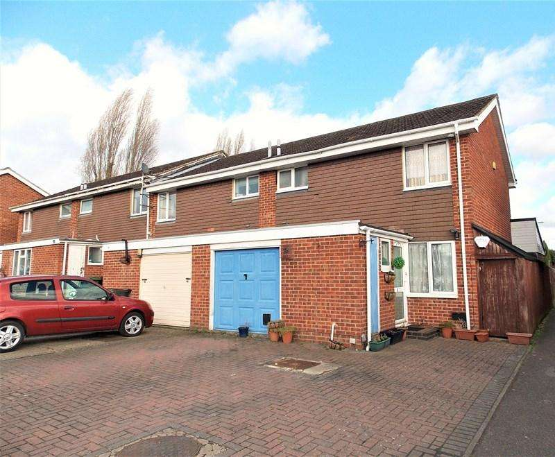 3 Bedrooms End Of Terrace House for sale in Sharnwood Drive, Calcot, Reading