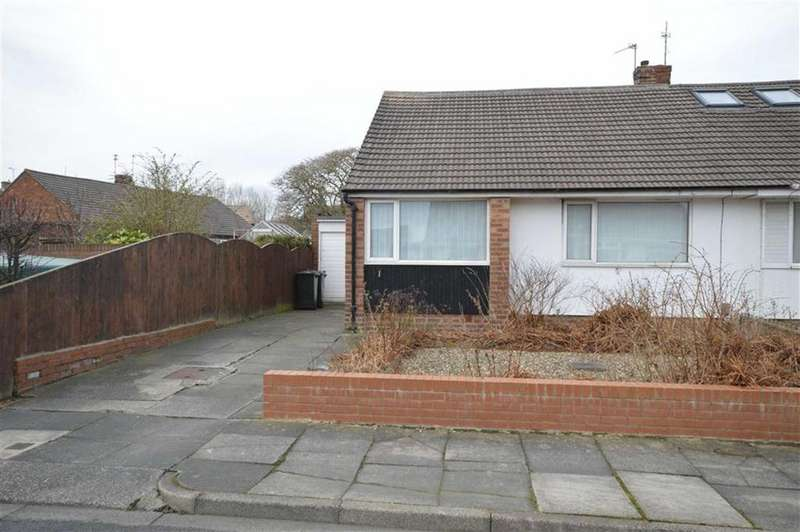 2 Bedrooms Semi Detached Bungalow for sale in Tilbury Grove, North Shields