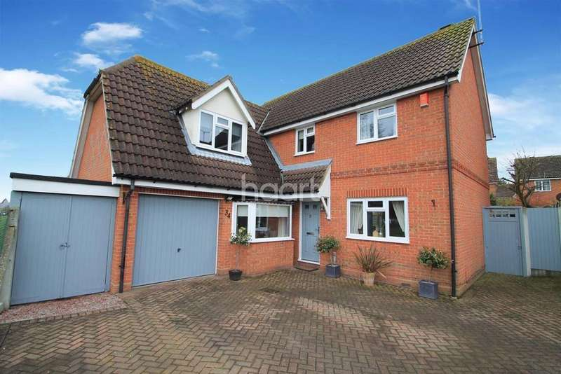 4 Bedrooms Detached House for sale in Four Sisters Way, Rayleigh