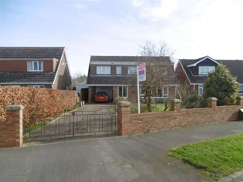 3 Bedrooms Detached House for sale in Lindsey Drive, Holton-Le-Clay, Grimsby