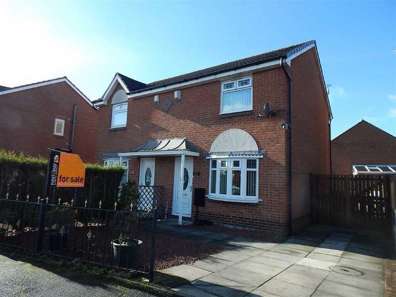 2 Bedrooms Semi Detached House for sale in Bewick Park, Bewick Park, Wallsend, NE28