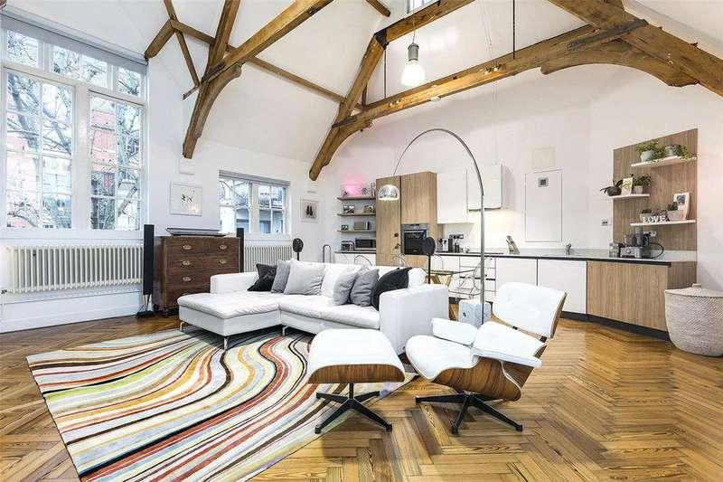 2 Bedrooms Maisonette Flat for sale in Kingsway Place, London, EC1R