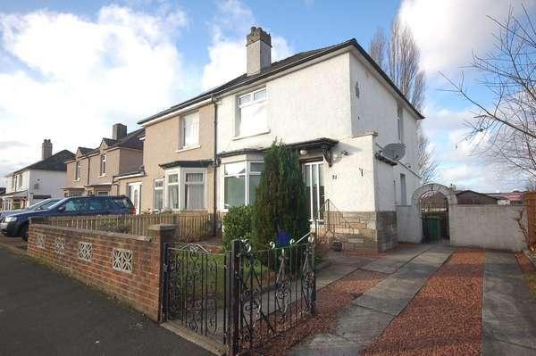 2 Bedrooms Semi-detached Villa House for sale in 21 Grampian Crescent, Sandyhills, Glasgow, G32 9TE
