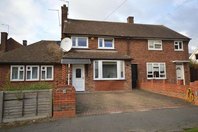2 Bedrooms Terraced House for sale in Cricklade Avenue, Harold Hill, Romford, RM3