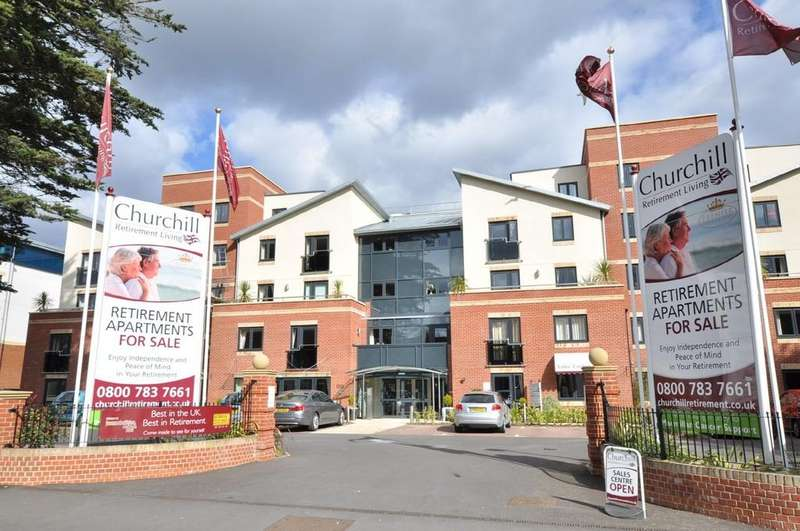 2 Bedrooms Retirement Property for sale in Osbourne Lodge, 4 Poole Road, Bournemouth