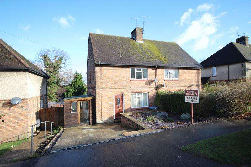 3 Bedrooms Semi Detached House for sale in Bentswood Crescent, Haywards Heath